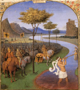 Caesar Crossing the Rubicon by Fouquet